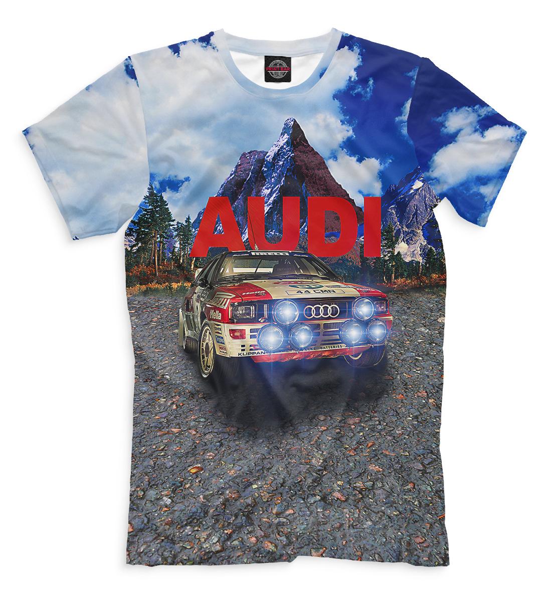 Купить Audi, Printbar, Футболки, AUD-114735-fut-2