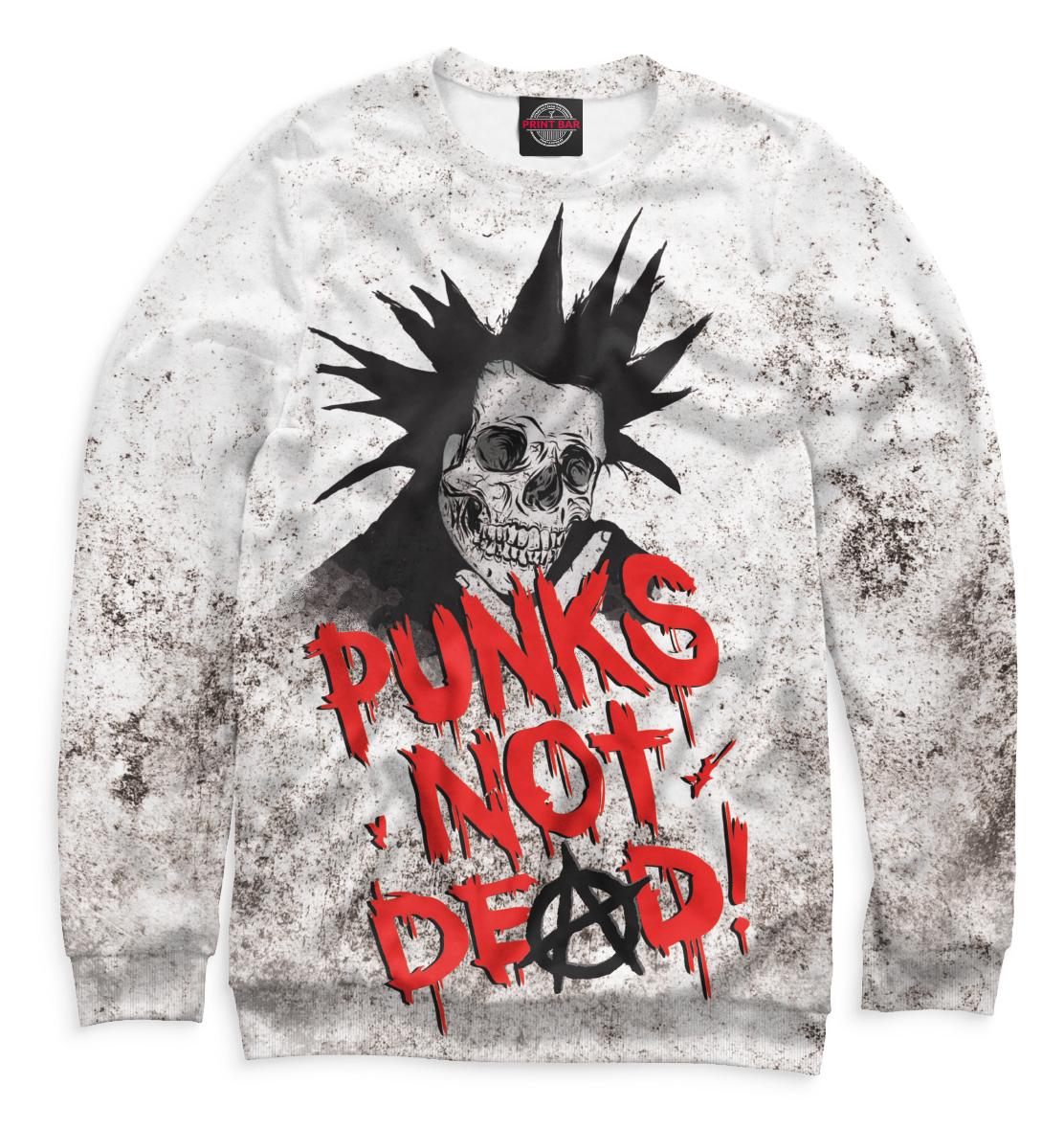 Купить Punks not Dead!, Printbar, Свитшоты, MZK-529454-swi-1