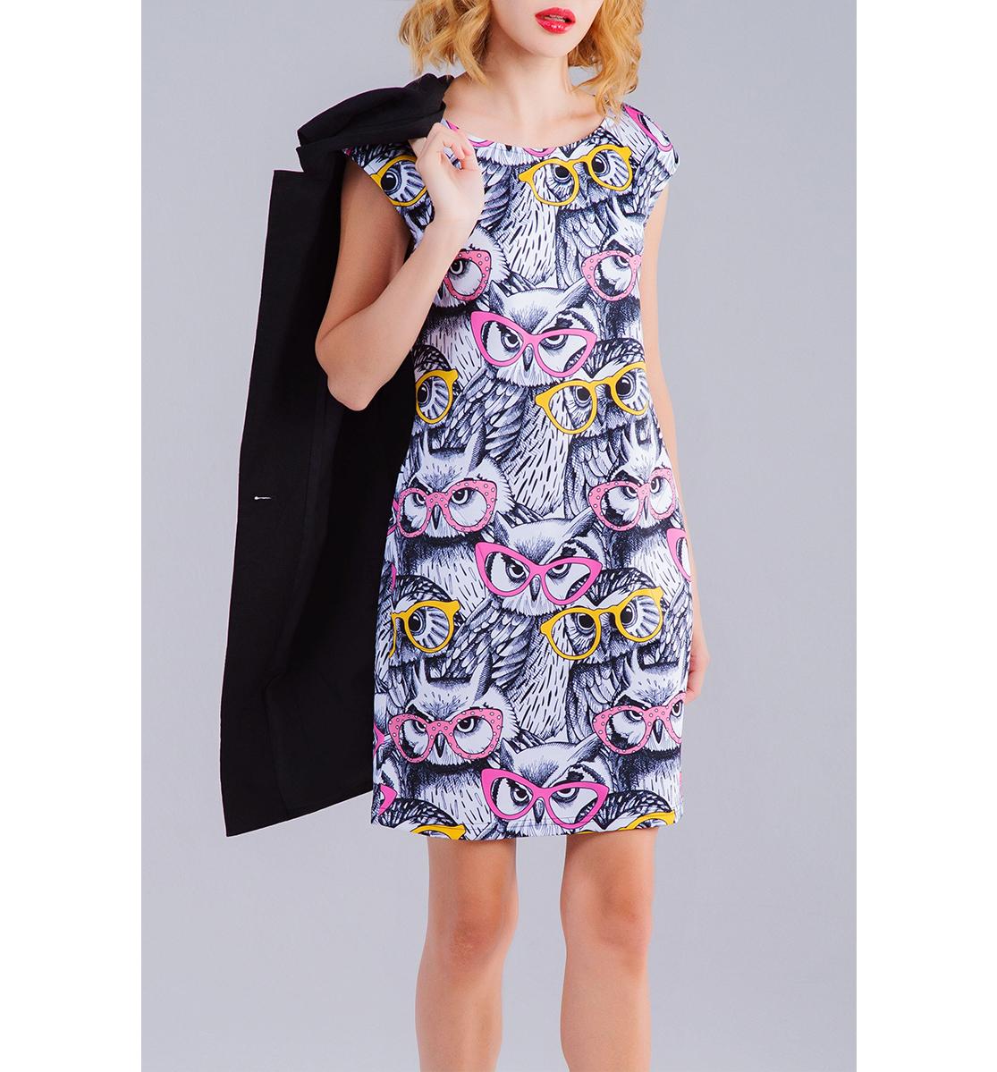 Купить Совы, Printbar, Платье без рукавов, STY-963299-pbr-1