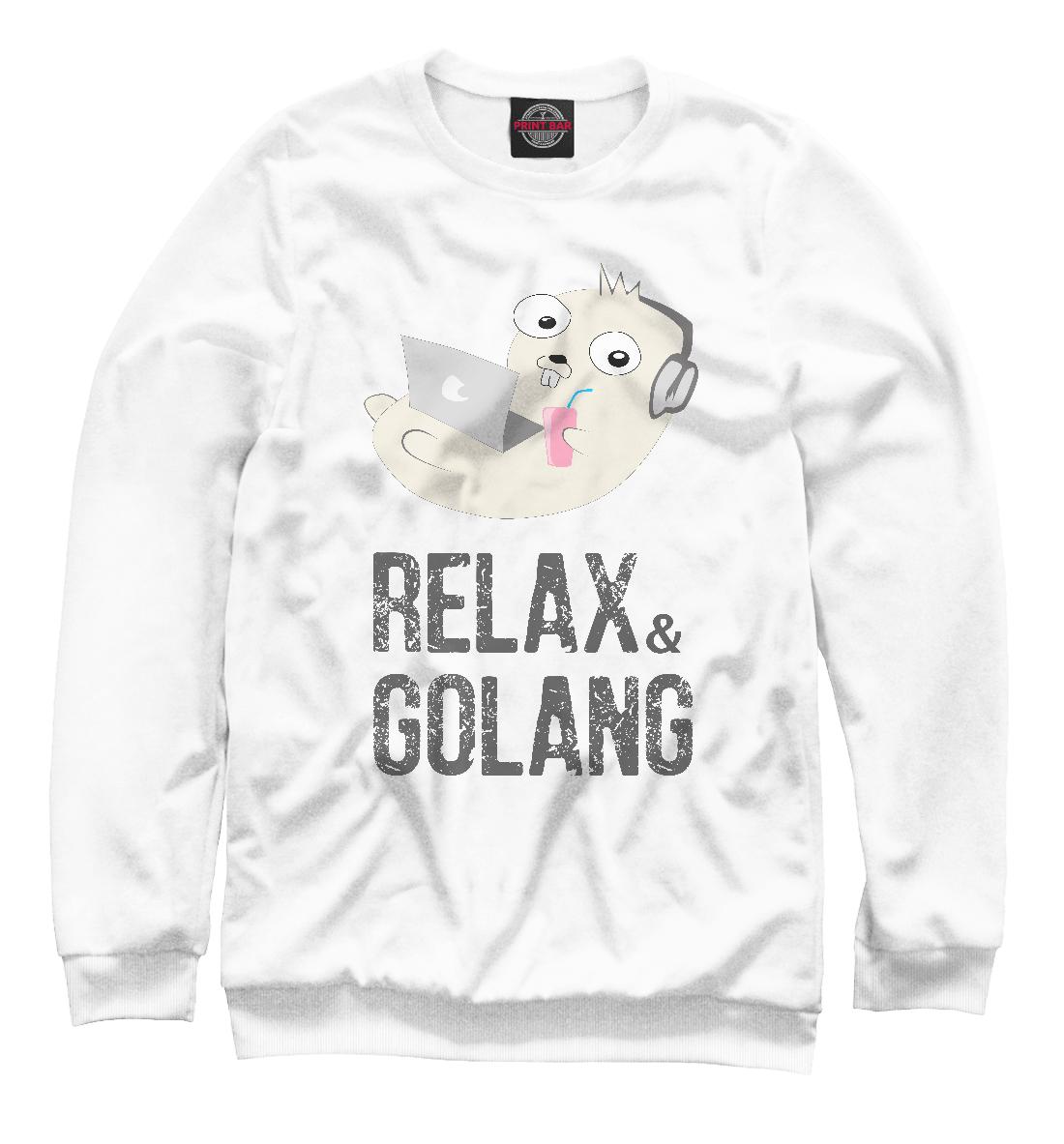 Купить Relax & Golang, Printbar, Свитшоты, ITT-288945-swi-1