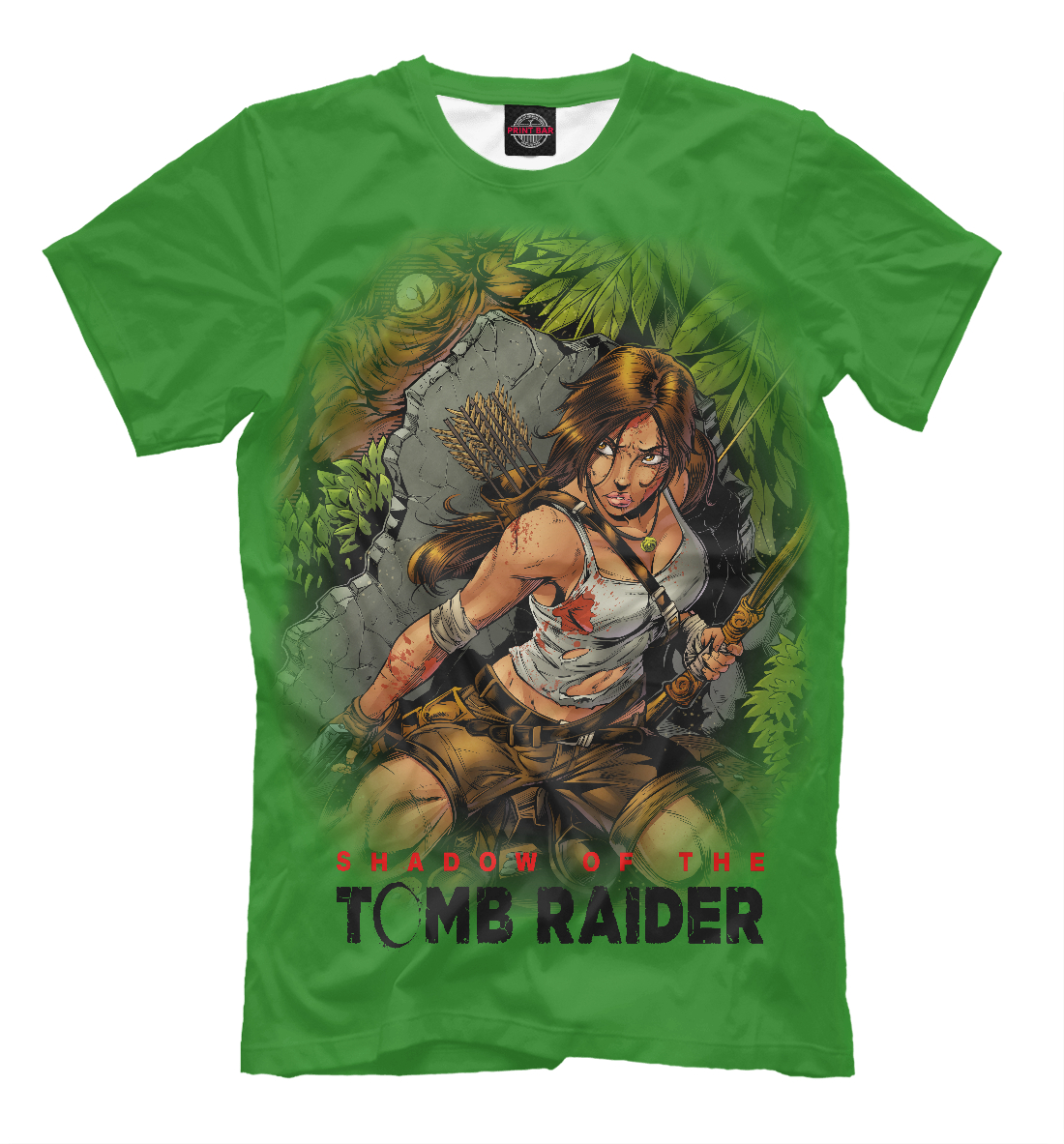 Купить TOMB RAIDER 2018, Printbar, Футболки, TBR-213003-fut-2