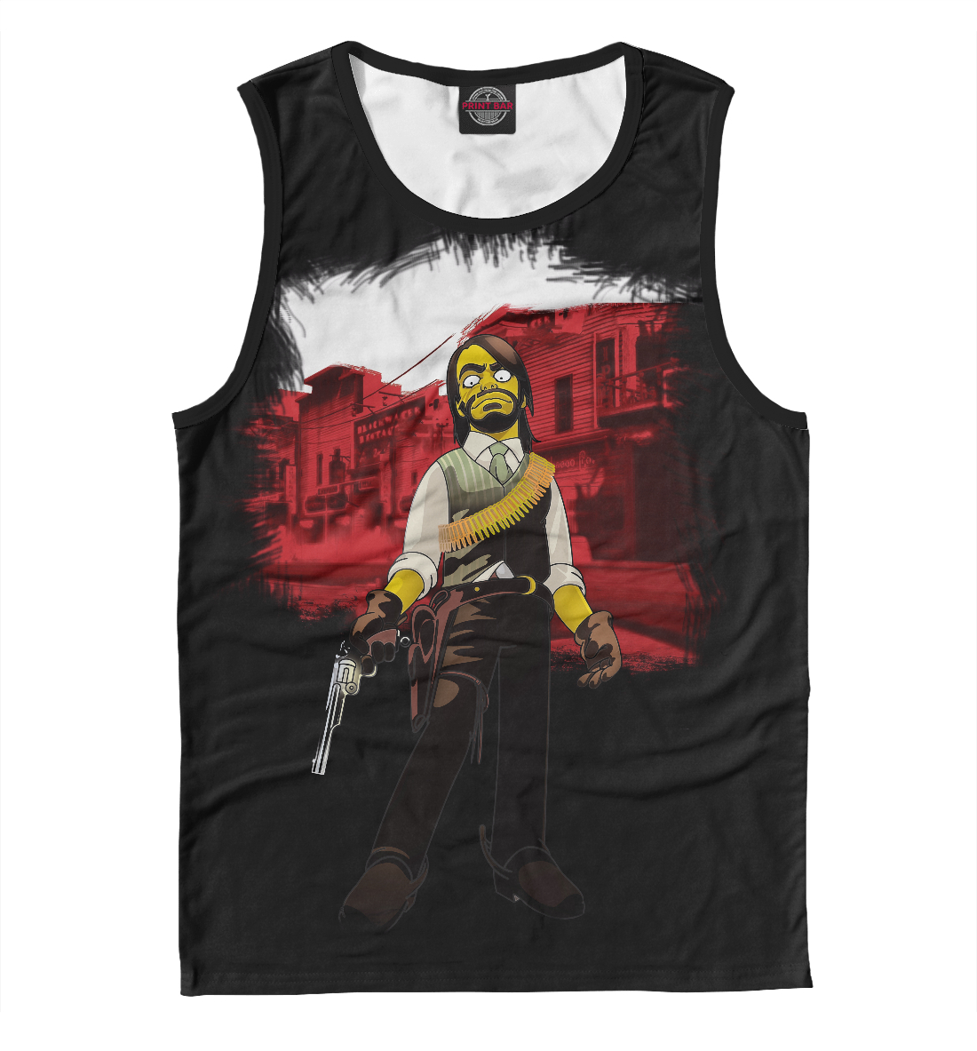 Купить Red Dead Redemption: The Simpsons Style, Printbar, Майки, ROC-591432-may-2