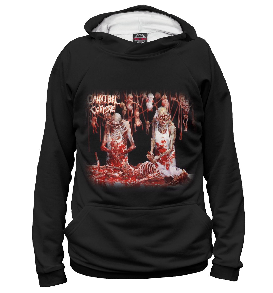 Купить Cannibal Corpse, Printbar, Худи, MZK-894449-hud-2