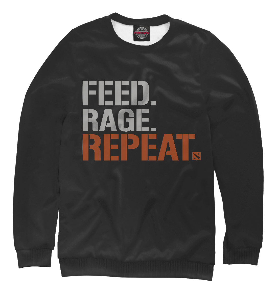 Купить Feed Rage Repeat, Printbar, Свитшоты, DO2-149356-swi-1