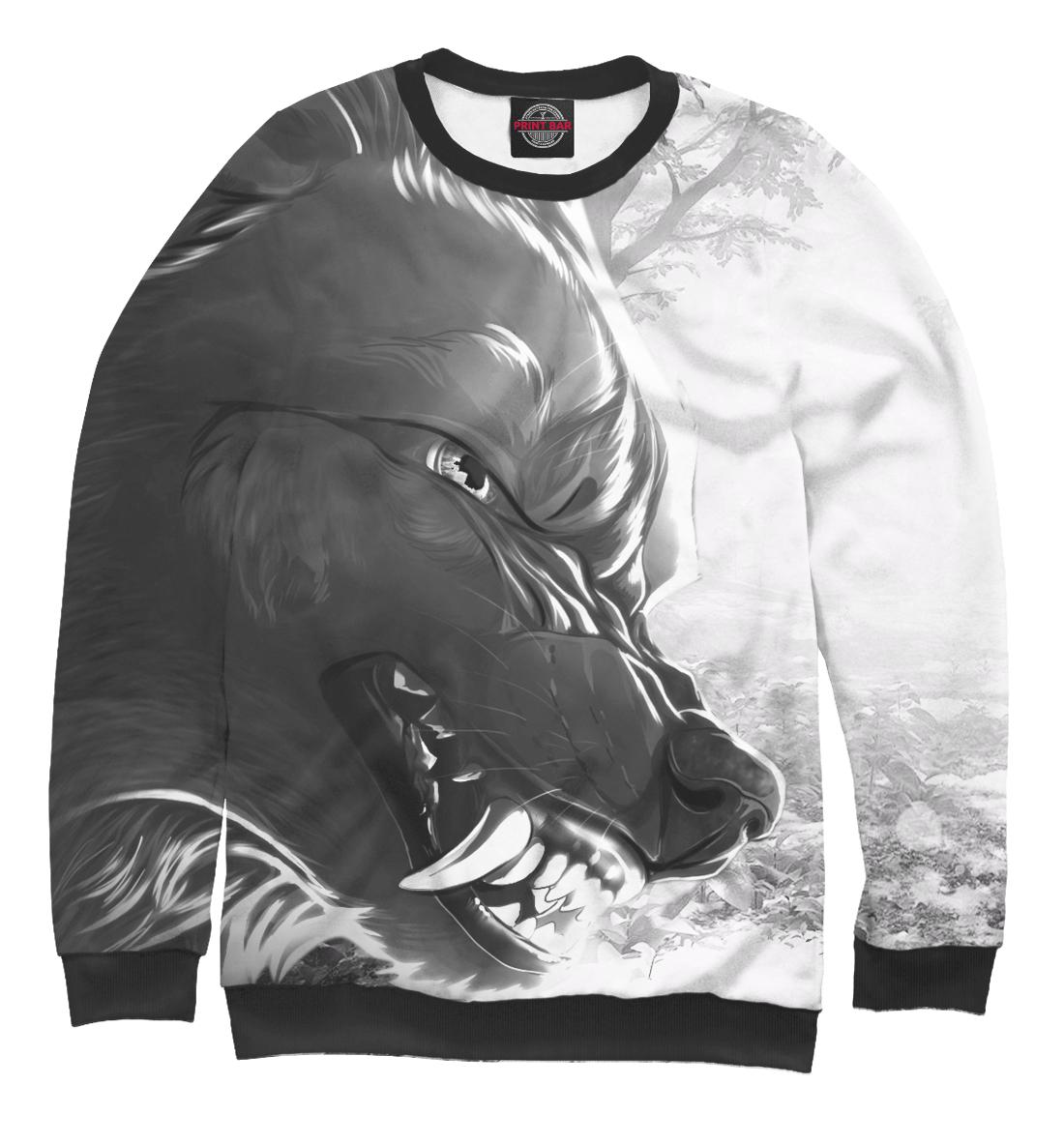 Купить Серый волк, Printbar, Свитшоты, VLF-139532-swi-1