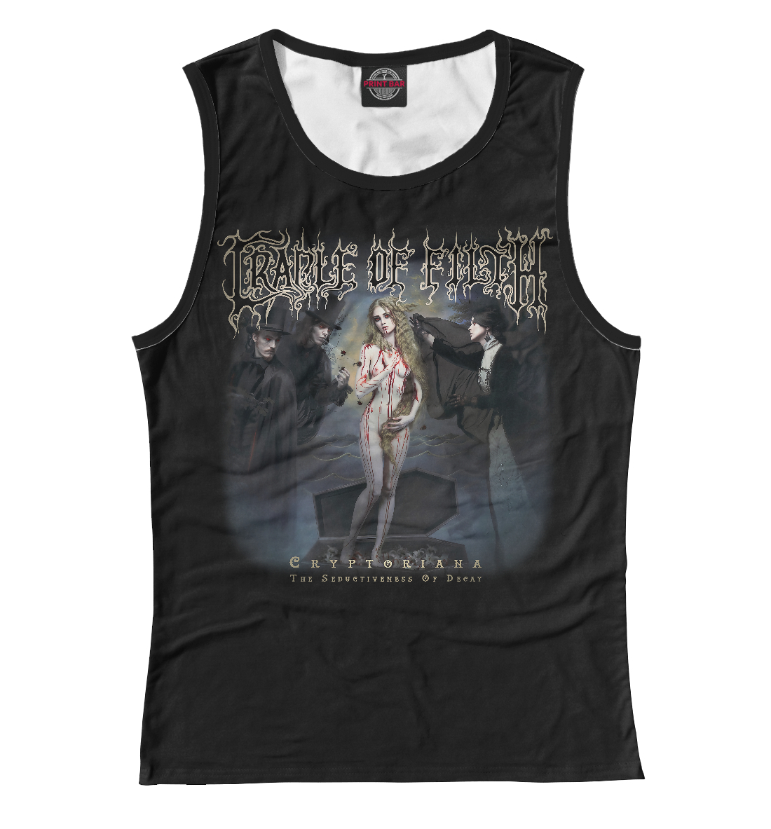 Cradle of Filth: Cryptoriana – The Seductiveness Of Decay cradle of filth hammer of the witches