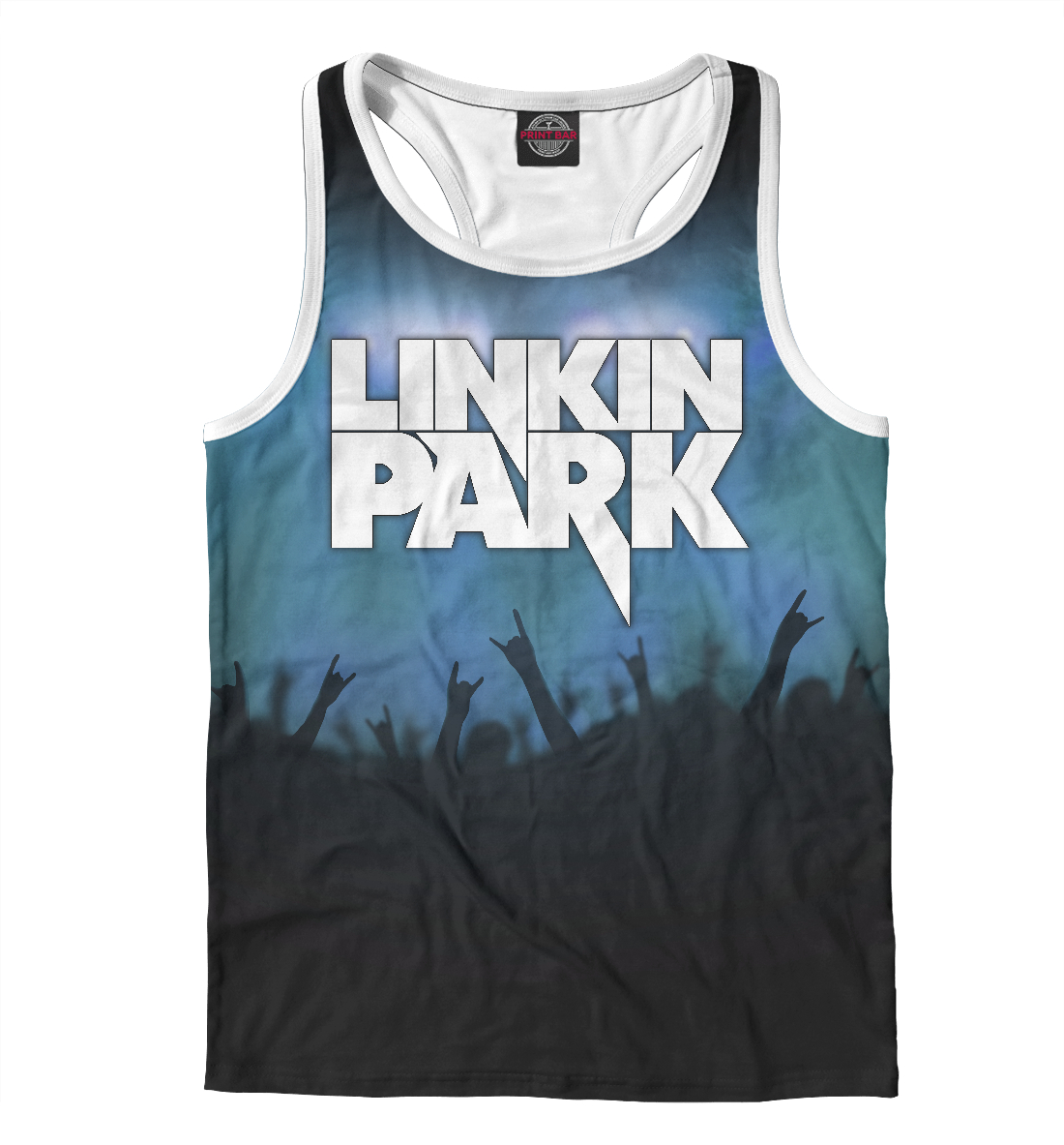 Купить Linkin Park, Printbar, Майки борцовки, LIN-991451-mayb-2