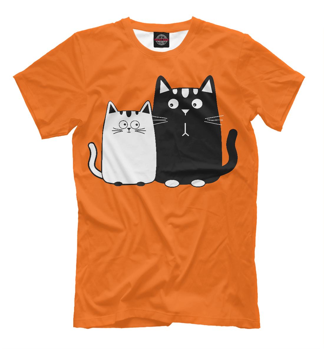 Купить Влюбленные котики, Printbar, Футболки, CAT-395690-fut-2