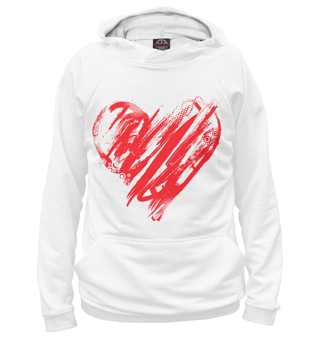 Купить Valentine's Day, Printbar, Худи, 14F-676545-hud-2