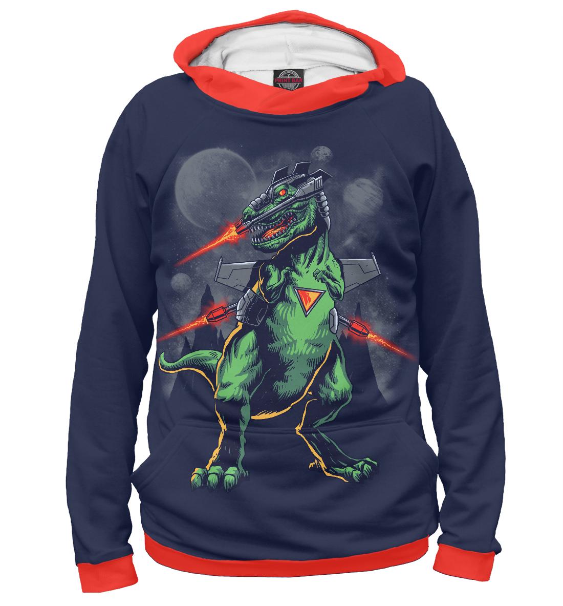 Купить Звездный динозавр, Printbar, Худи, HIP-922016-hud-1