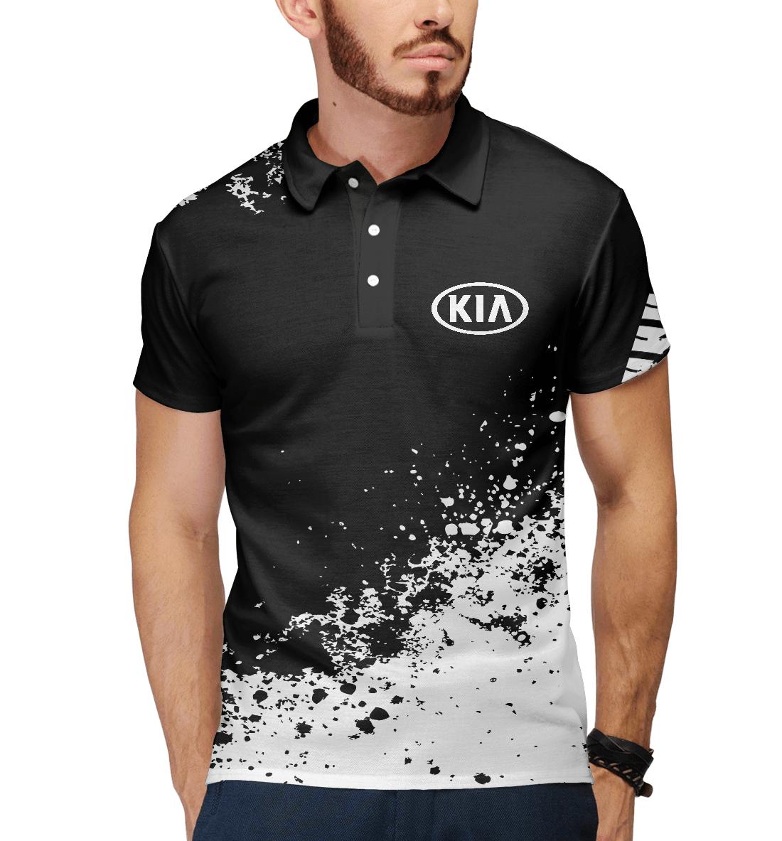 Купить Kia abstract sport uniform, Printbar, Поло, AMP-137239-pol-2