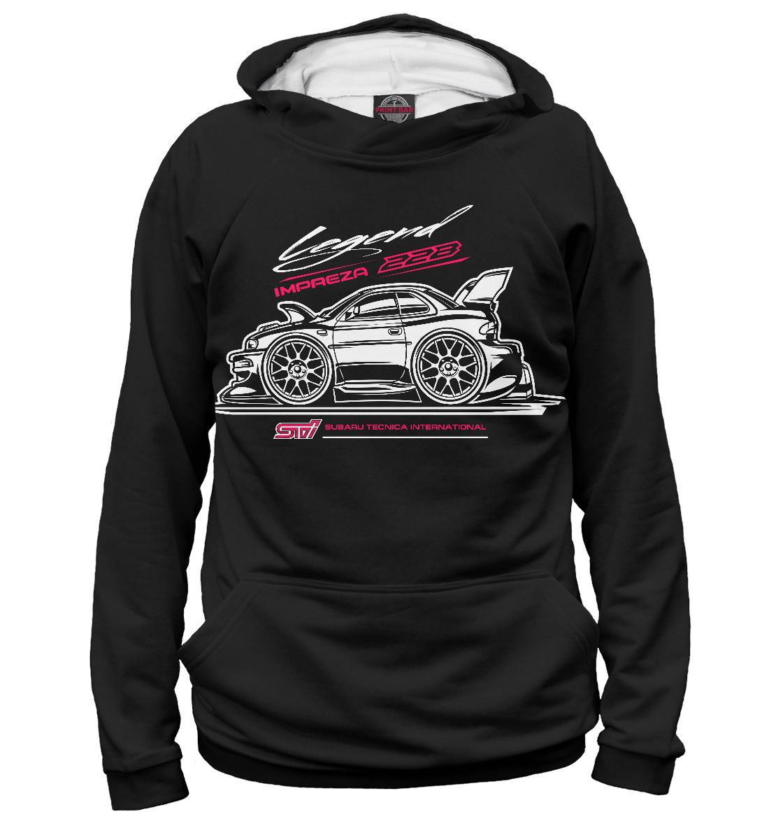 Купить Subaru 22b 2, Printbar, Худи, SBR-775690-hud-1