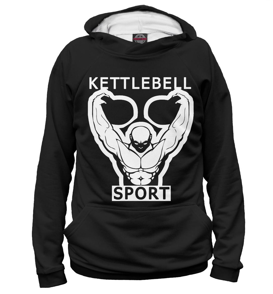 Купить Гиревой спорт/Kettlebell sport, Printbar, Худи, NOV-566995-hud-2