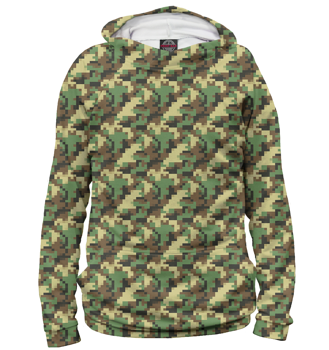 Green Pixel Camouflage