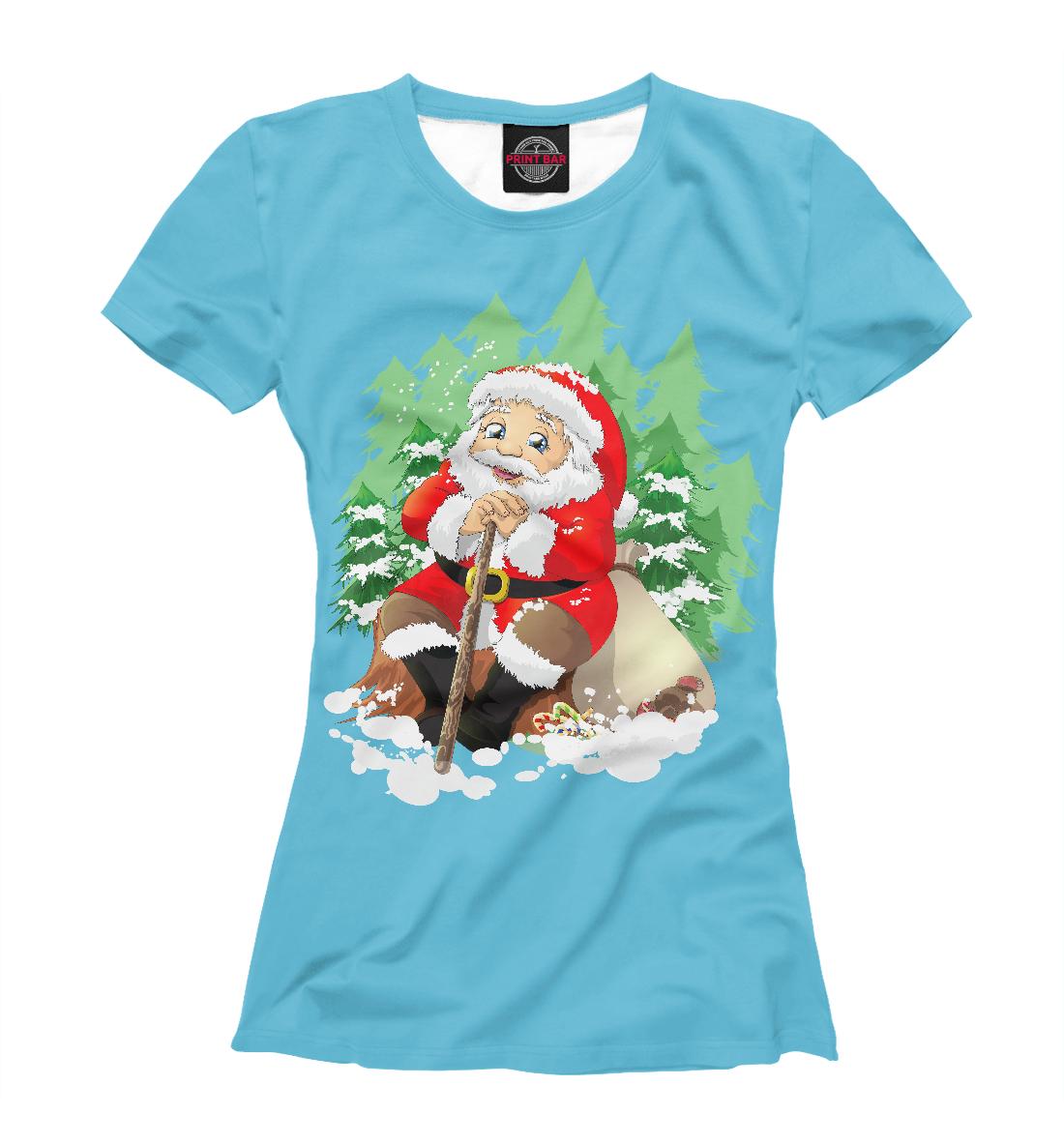 Купить Дед Мороз, Printbar, Футболки, DMZ-313847-fut-1
