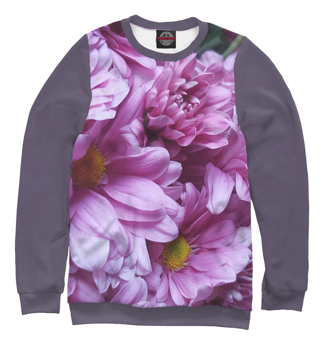 Купить Сиреневый букет цветов, Printbar, Свитшоты, CVE-432727-swi-1