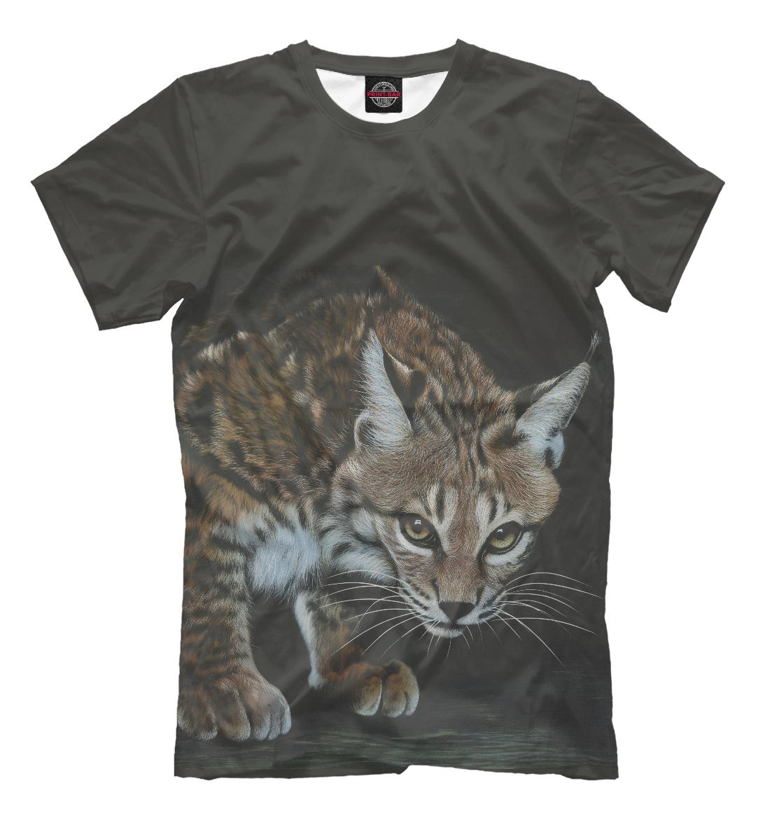 Купить Хищные кошки, Printbar, Футболки, HIS-341217-fut-2