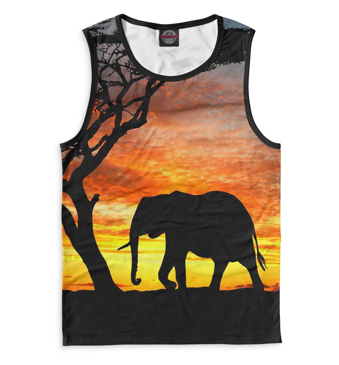 Купить Слоны, Printbar, Майки, SLO-280380-may-2