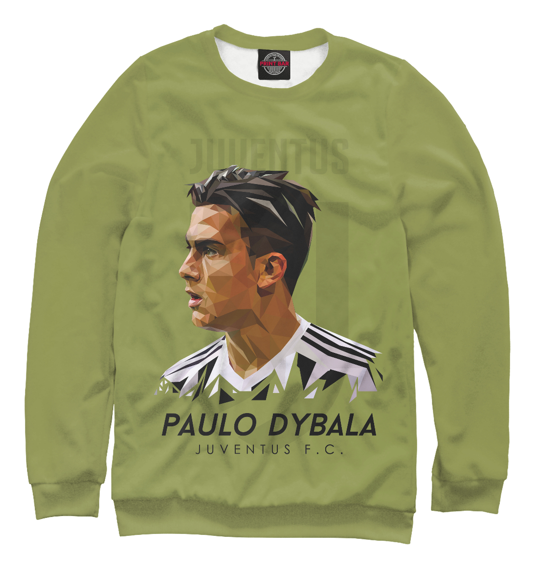 Купить Paulo Dybala Juventus FC, Printbar, Свитшоты, JUV-984111-swi-1