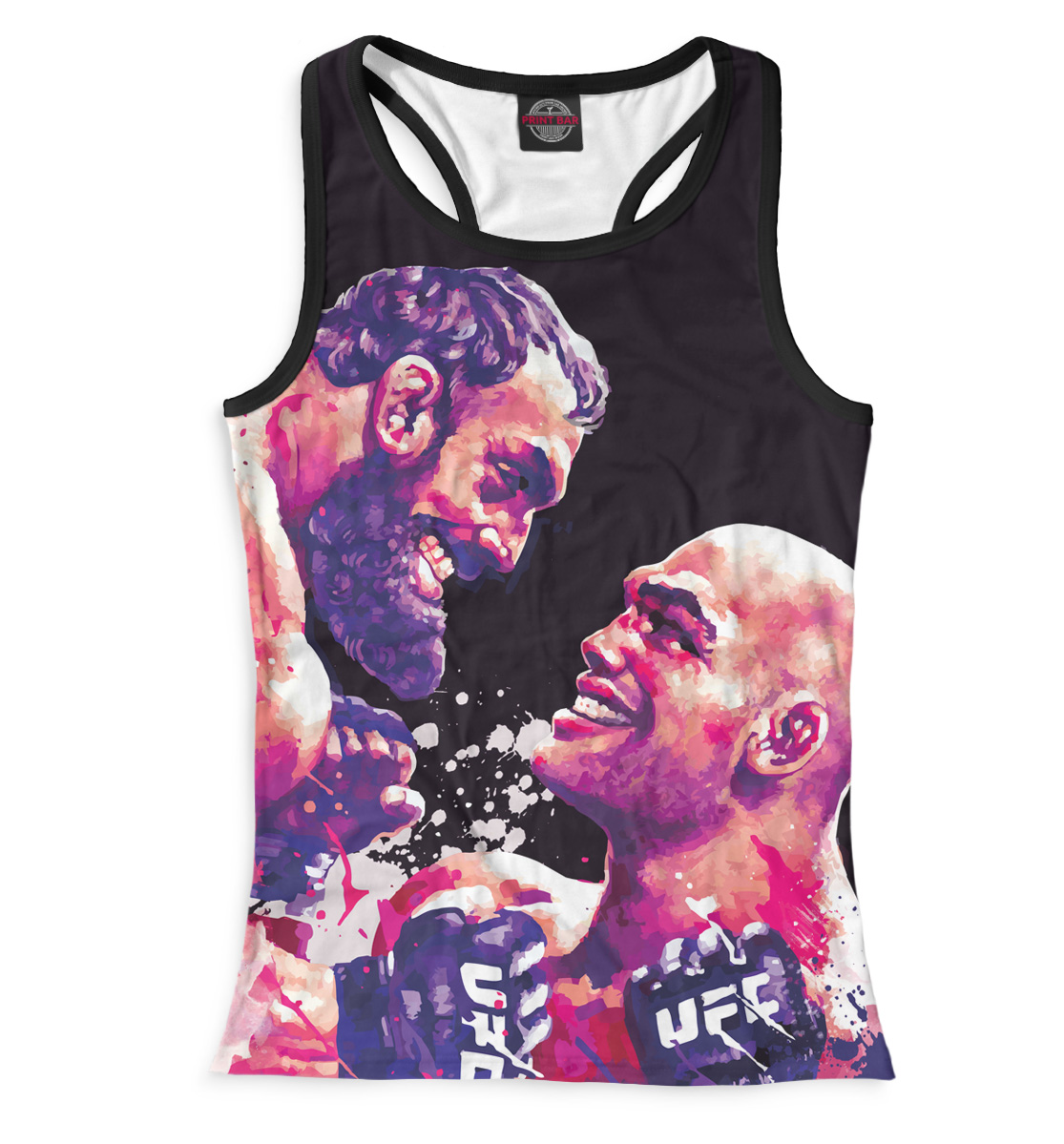 Купить UFC Fight Night 52, Printbar, Майки борцовки, MNU-961697-mayb-1