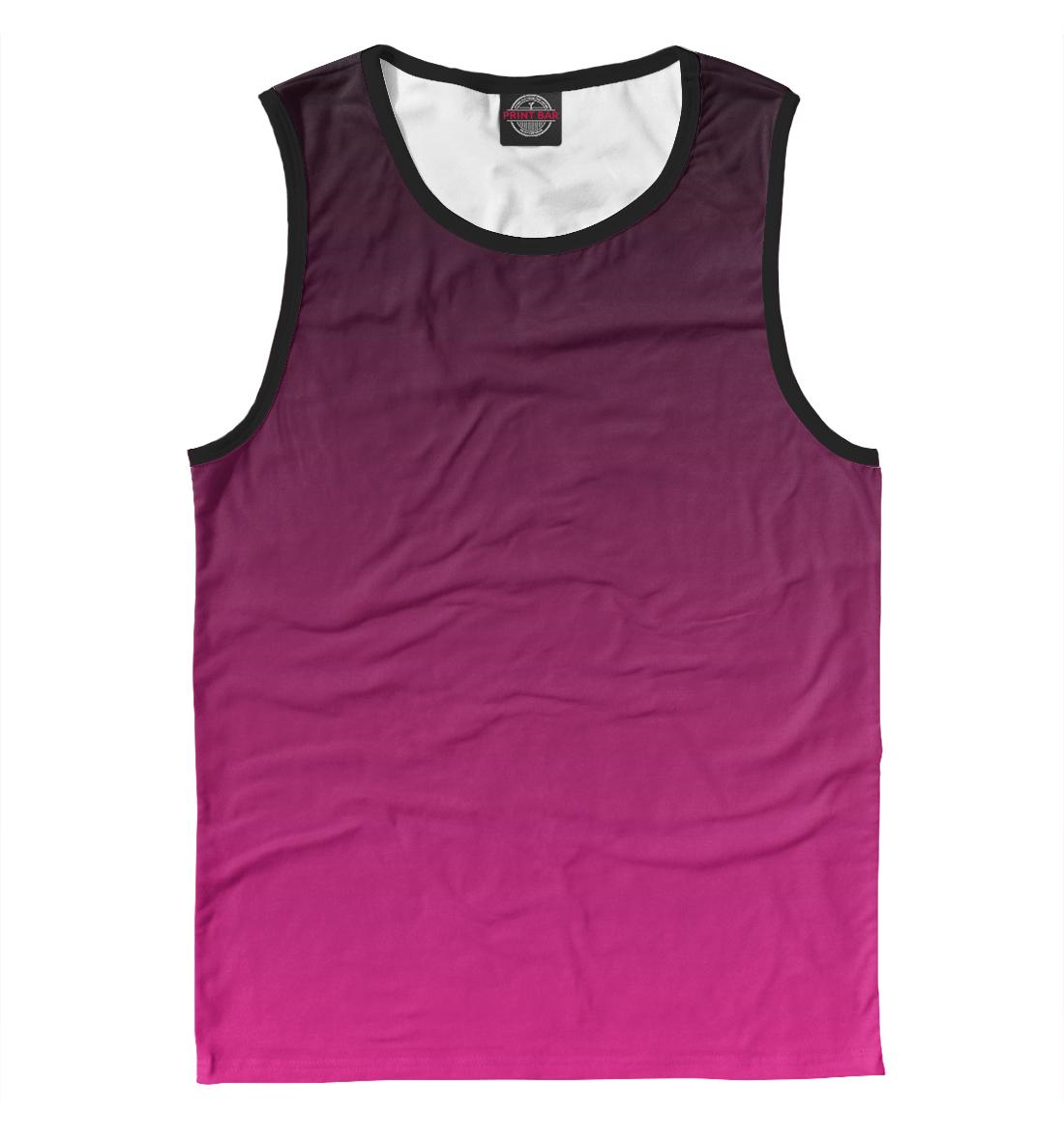 Купить Градиент Розовый в Черный, Printbar, Майки, CLR-560218-may-2