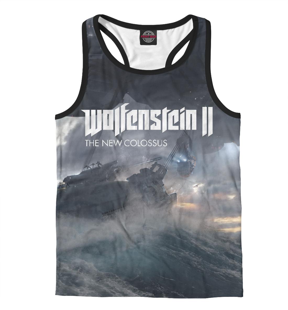 Купить Wolfenstein 2 The New Colossus, Printbar, Майки борцовки, RPG-361498-mayb-2