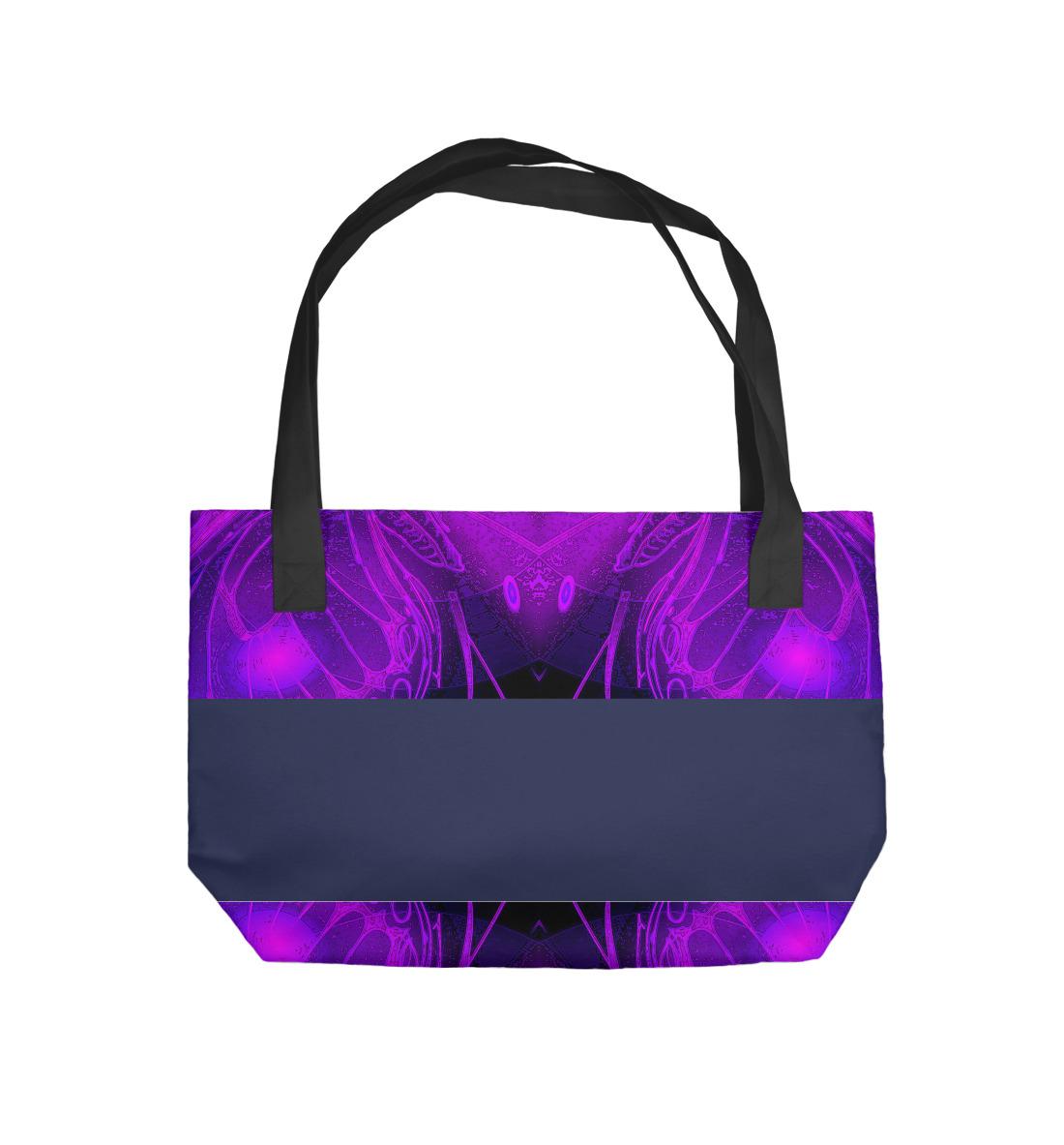 фиолетовая Абстракция фиолетовая