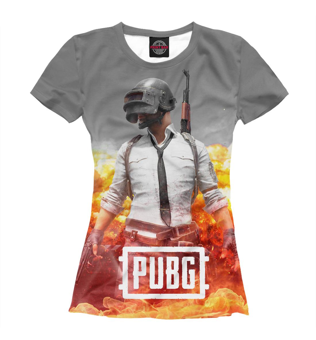 Купить PUBG FIRE, Printbar, Футболки, PBG-978135-fut-1