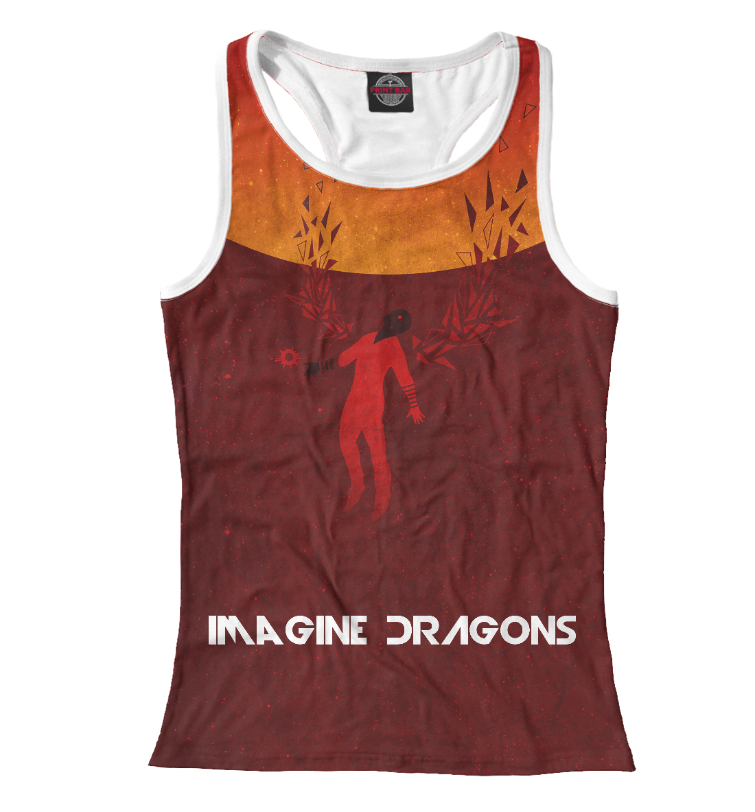 Купить Imagine Dragons, Printbar, Майки борцовки, IMA-244101-mayb-1