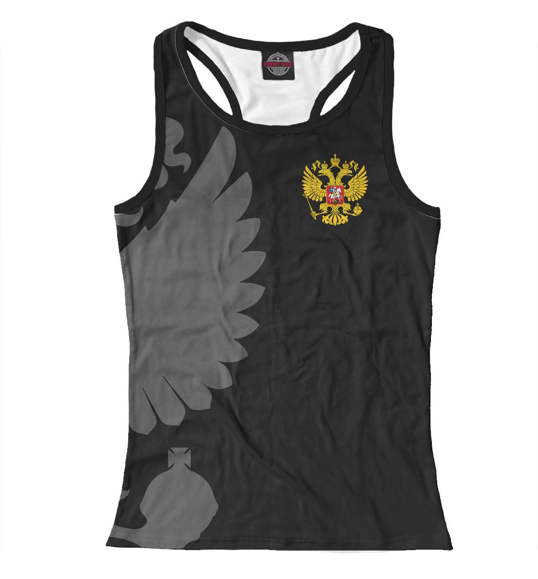 Герб России Серый на Черном