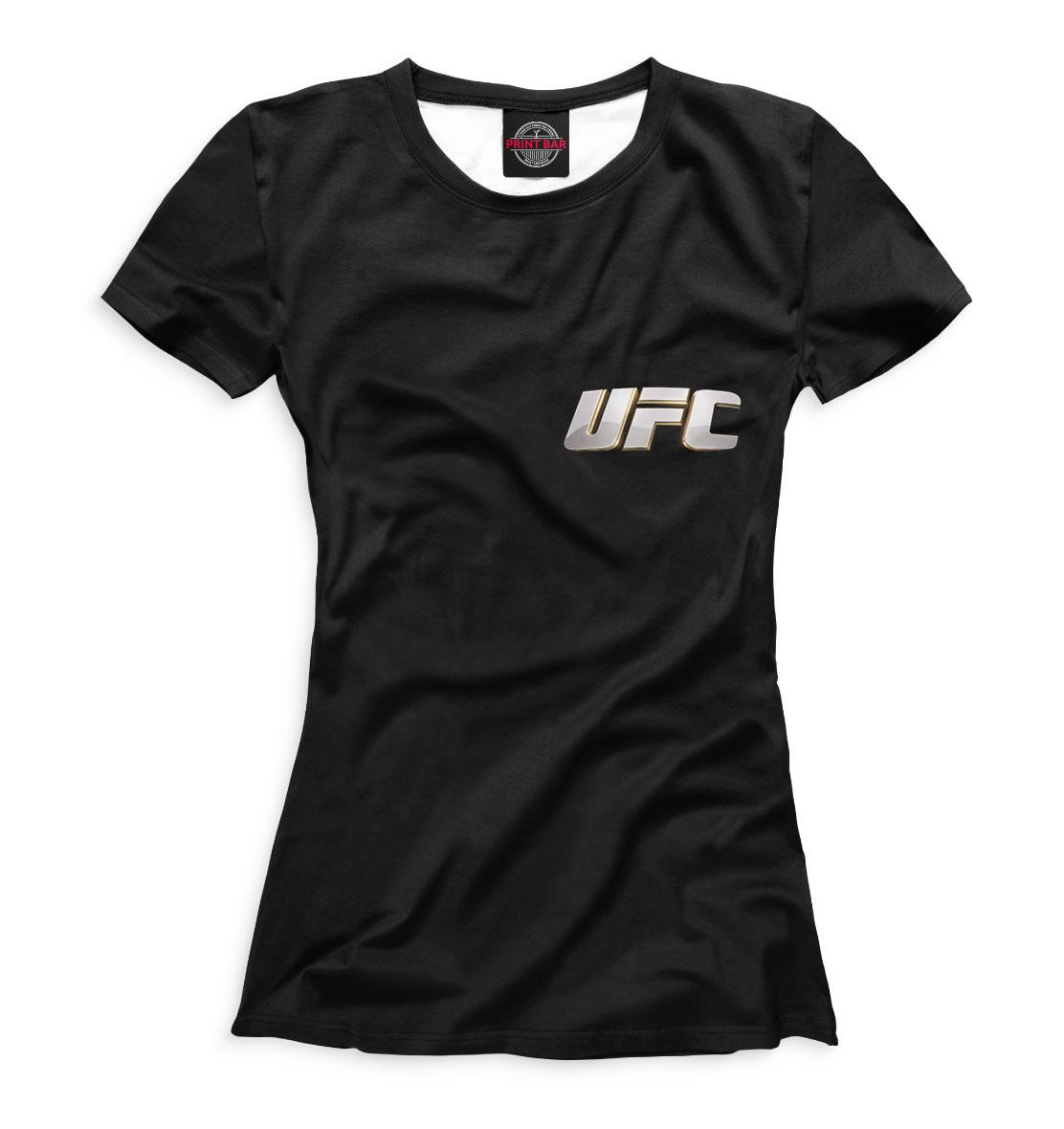 Купить UFC, Printbar, Футболки, MNU-334626-fut-1