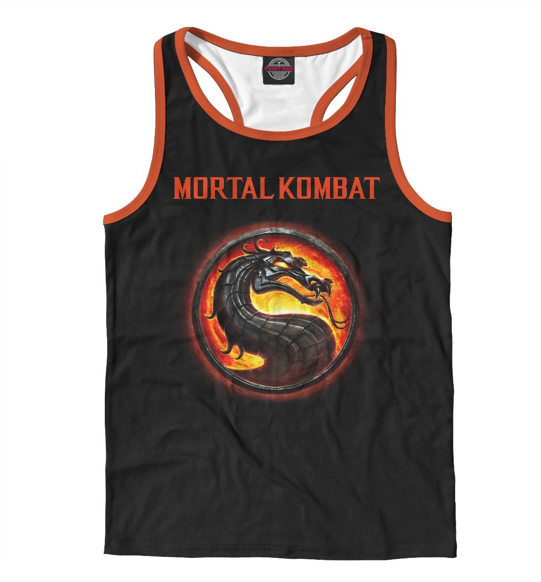 Купить Mortal Kombat, Printbar, Майки борцовки, MKB-860737-mayb-2