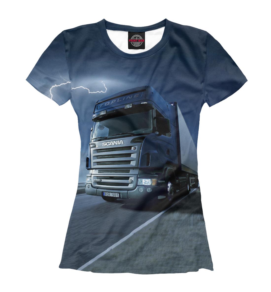 Купить Scania, Printbar, Футболки, GRZ-690904-fut-1