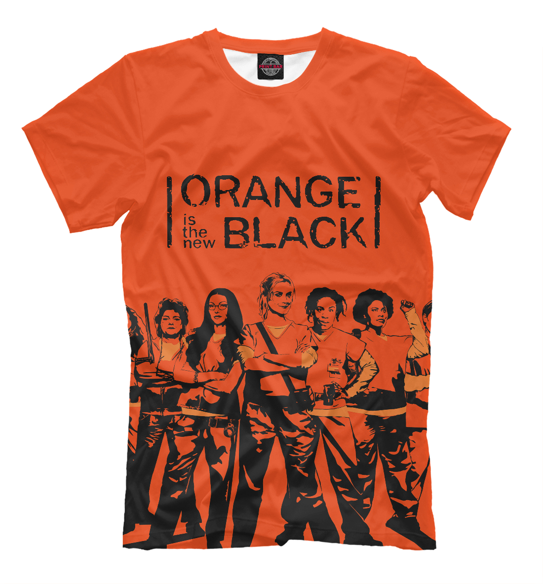 Купить ORANGE IS THE NEW BLACK, Printbar, Футболки, SOT-264714-fut-2