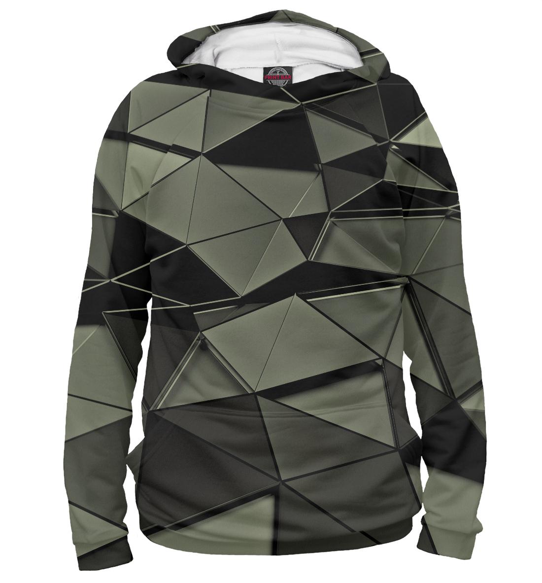 Купить Abstract gray, Printbar, Худи, ABS-991376-hud-1
