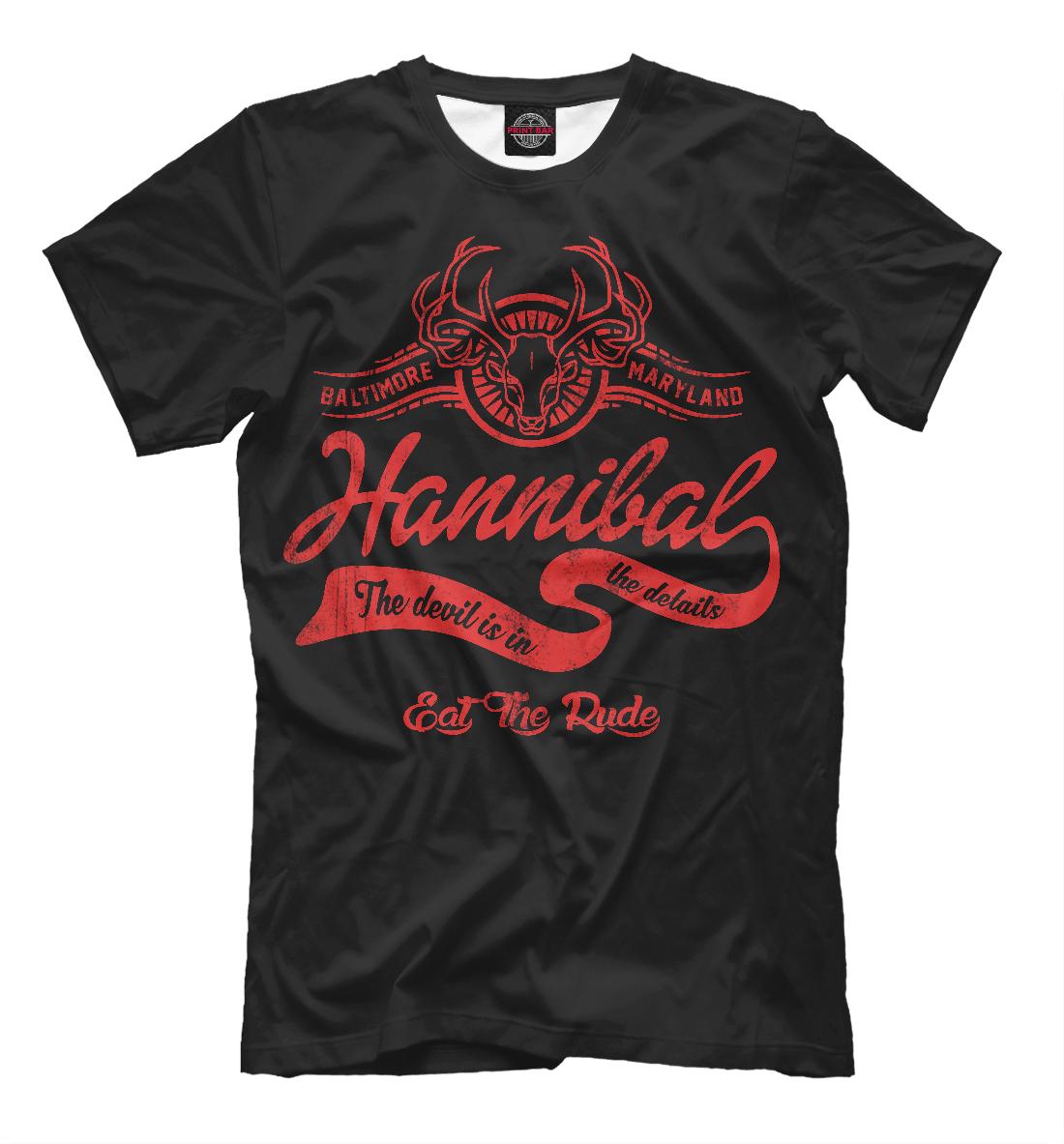 Купить Ганнибал, Printbar, Футболки, SOT-886315-fut-2