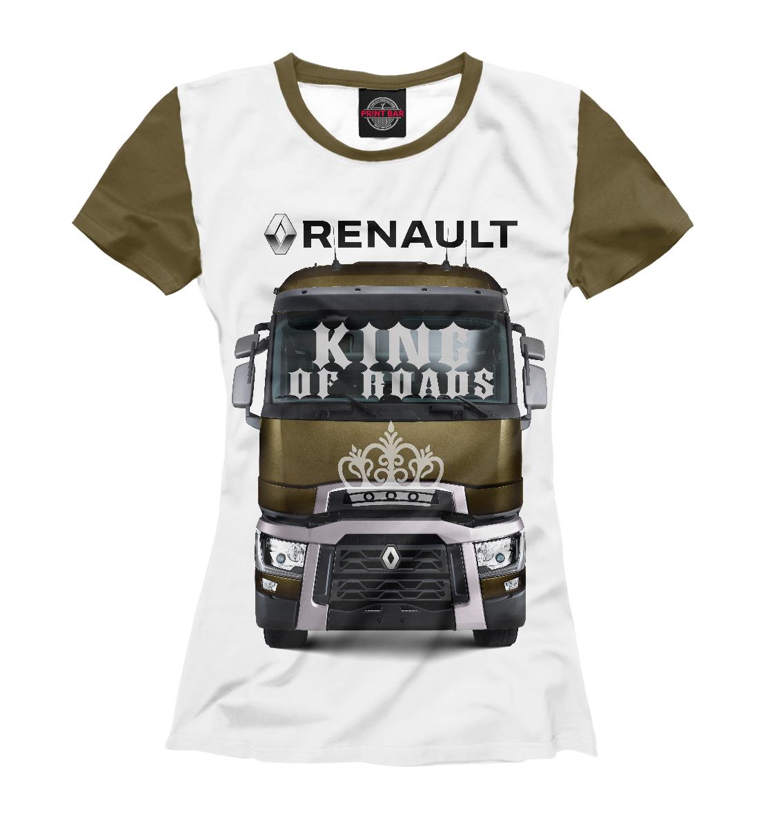 Купить RENAULT - король дорог, Printbar, Футболки, GRZ-918078-fut-1