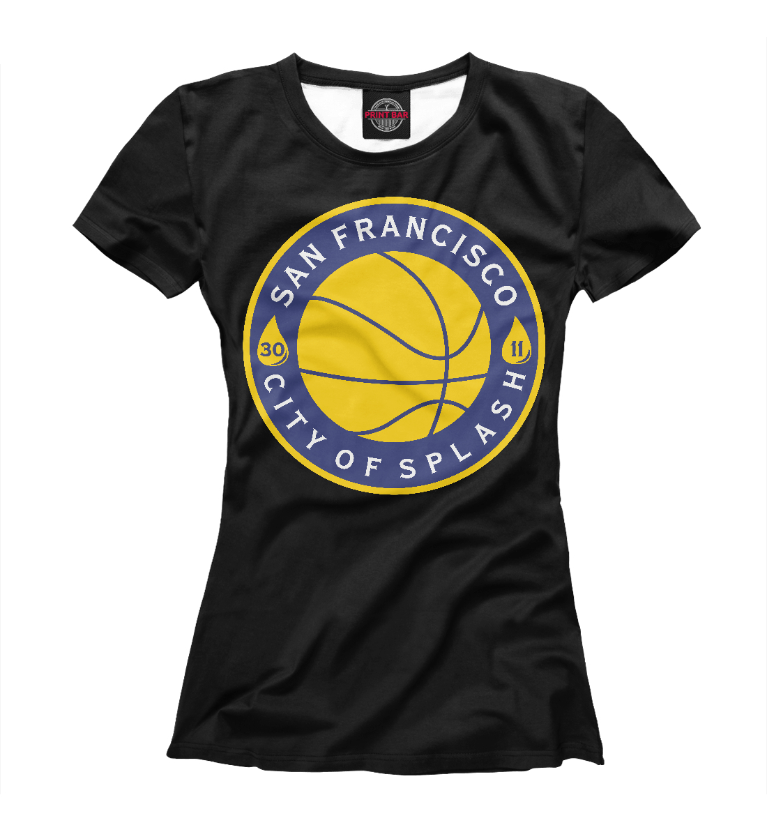 Купить Golden State Warriors, Printbar, Футболки, NBA-428633-fut-1