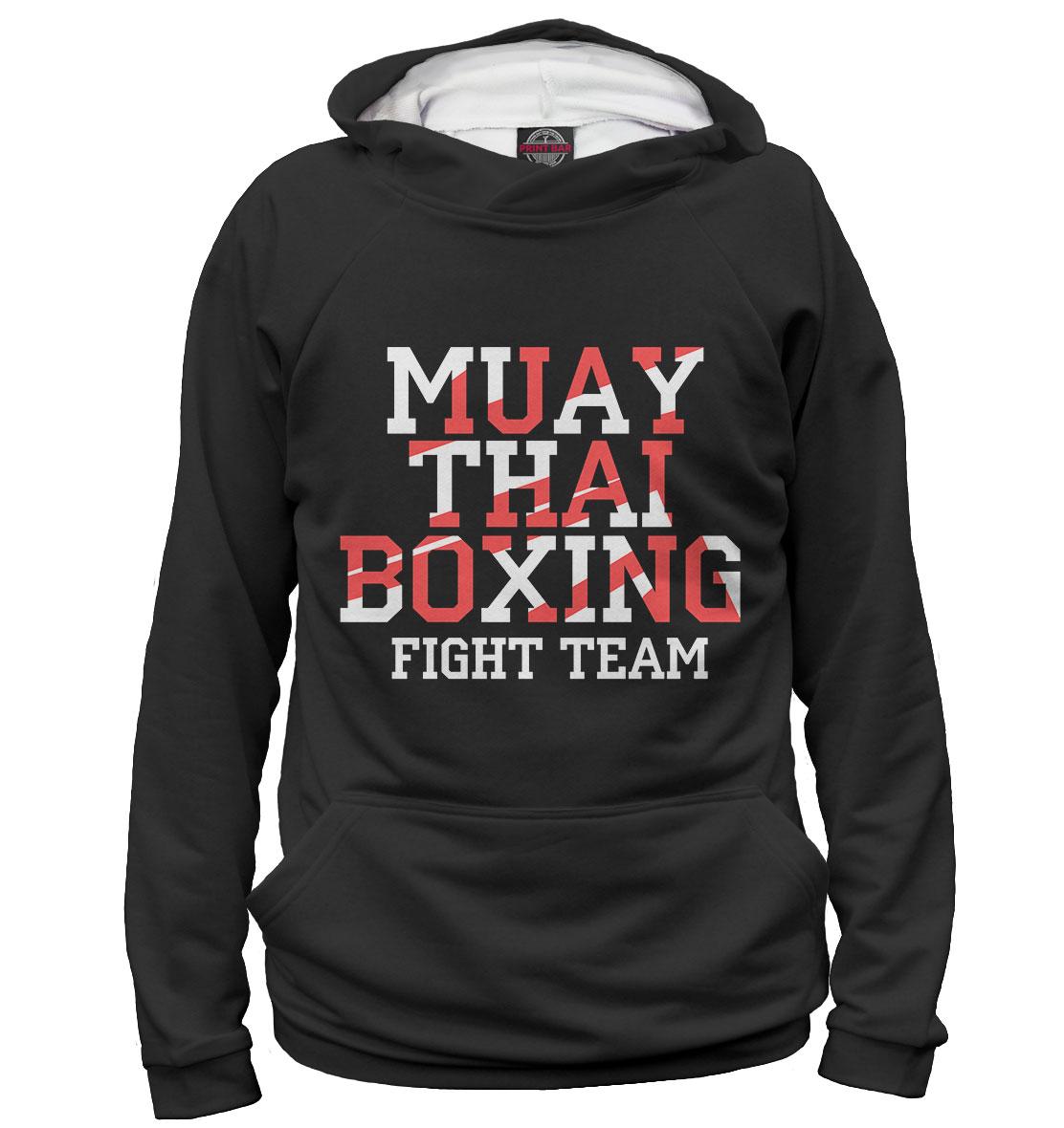 Купить Muay Thai Boxing, Printbar, Худи, EDI-540894-hud-1