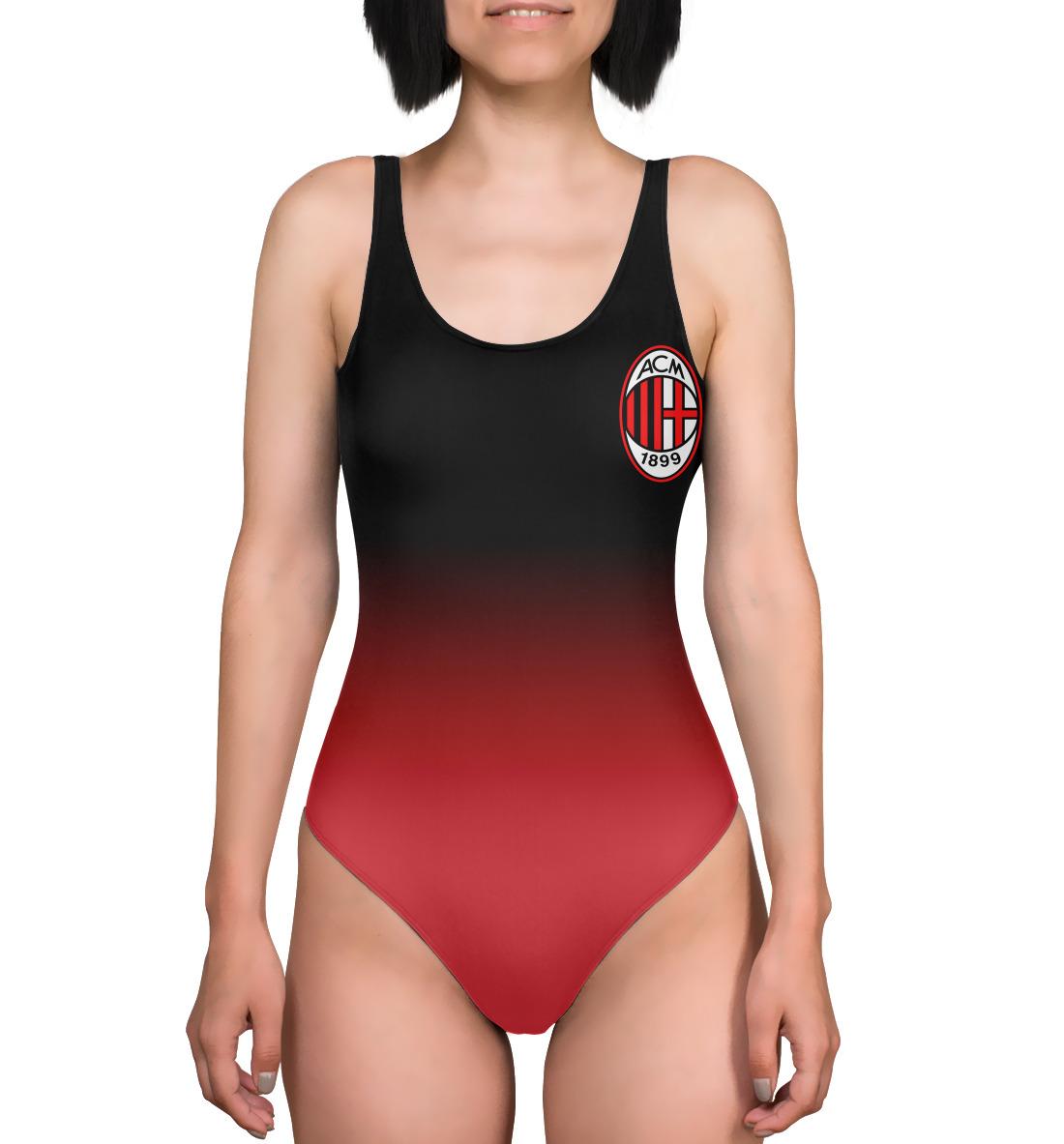 Купить Milan Red&Black, Printbar, Купальники-боди, ACM-907287-kub-1