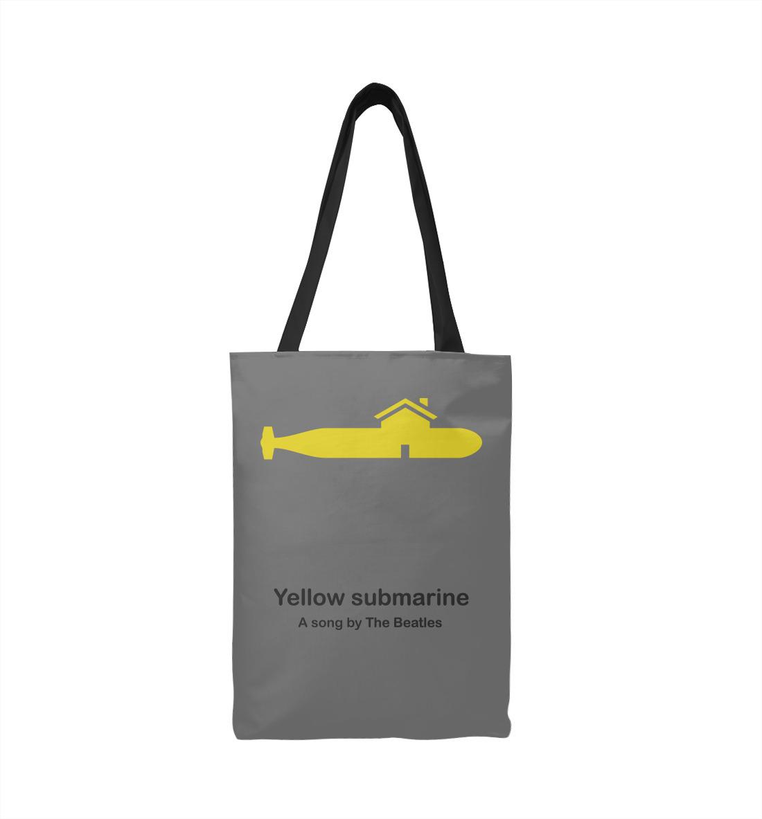 printio лонгслив submarine Yellow Submarine