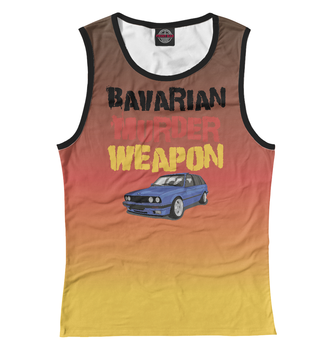 Купить Bawarian Murder Weapon, Printbar, Майки, BMW-294567-may-1
