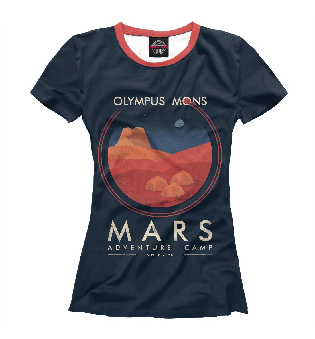 Купить Mars Adventure Camp, Printbar, Футболки, HIP-184322-fut-1