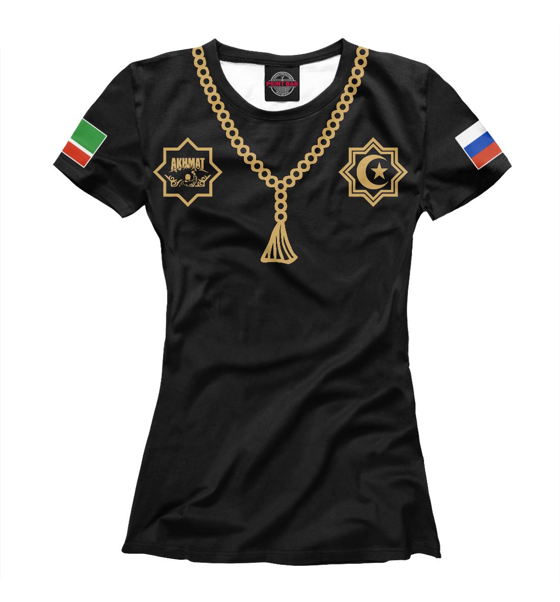 Купить Чечня Ахмат, Printbar, Футболки, AFC-490428-fut-1
