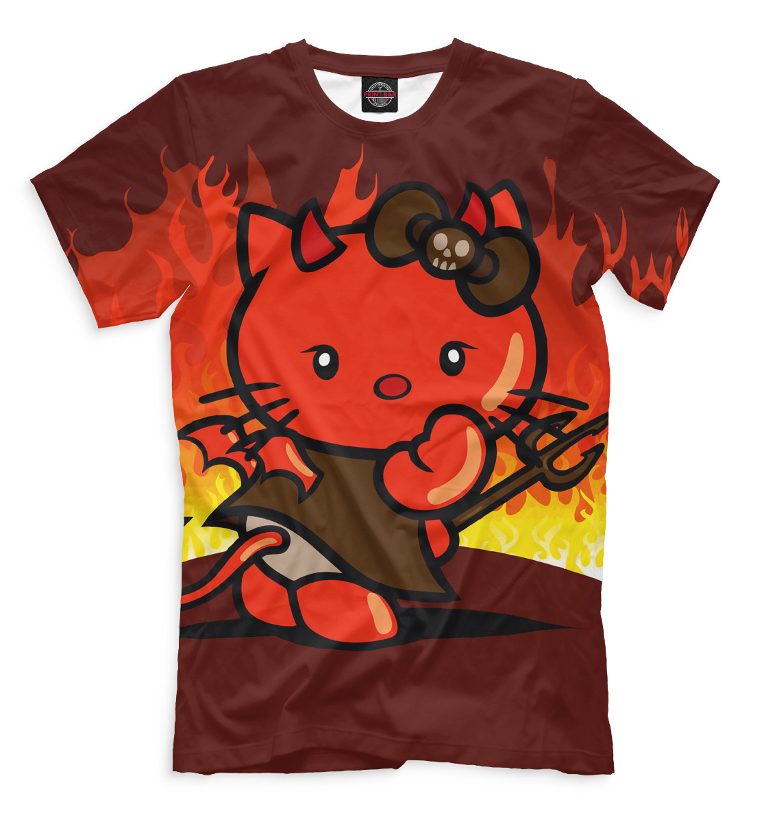 Купить Hello Kitty, Printbar, Футболки, HLK-894177-fut-2