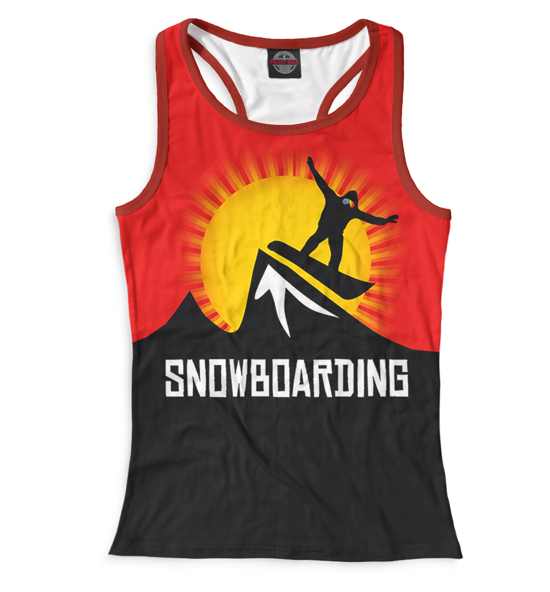 Купить Сноубординг, Printbar, Майки борцовки, SNW-549568-mayb-1