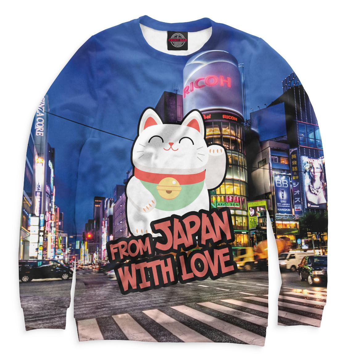 Купить From Japan with Love, Printbar, Свитшоты, JPN-233983-swi-1