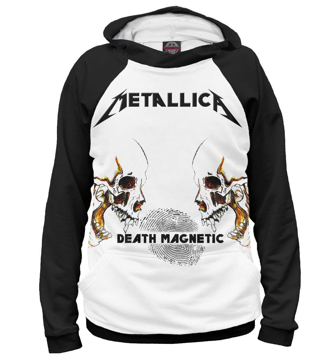 Купить Metallica Death Magnetic Skulls, Printbar, Худи, MET-745017-hud-2
