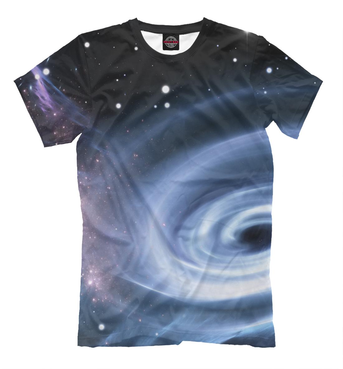 Купить Черная дыра космоса, Printbar, Футболки, HIP-630815-fut-2
