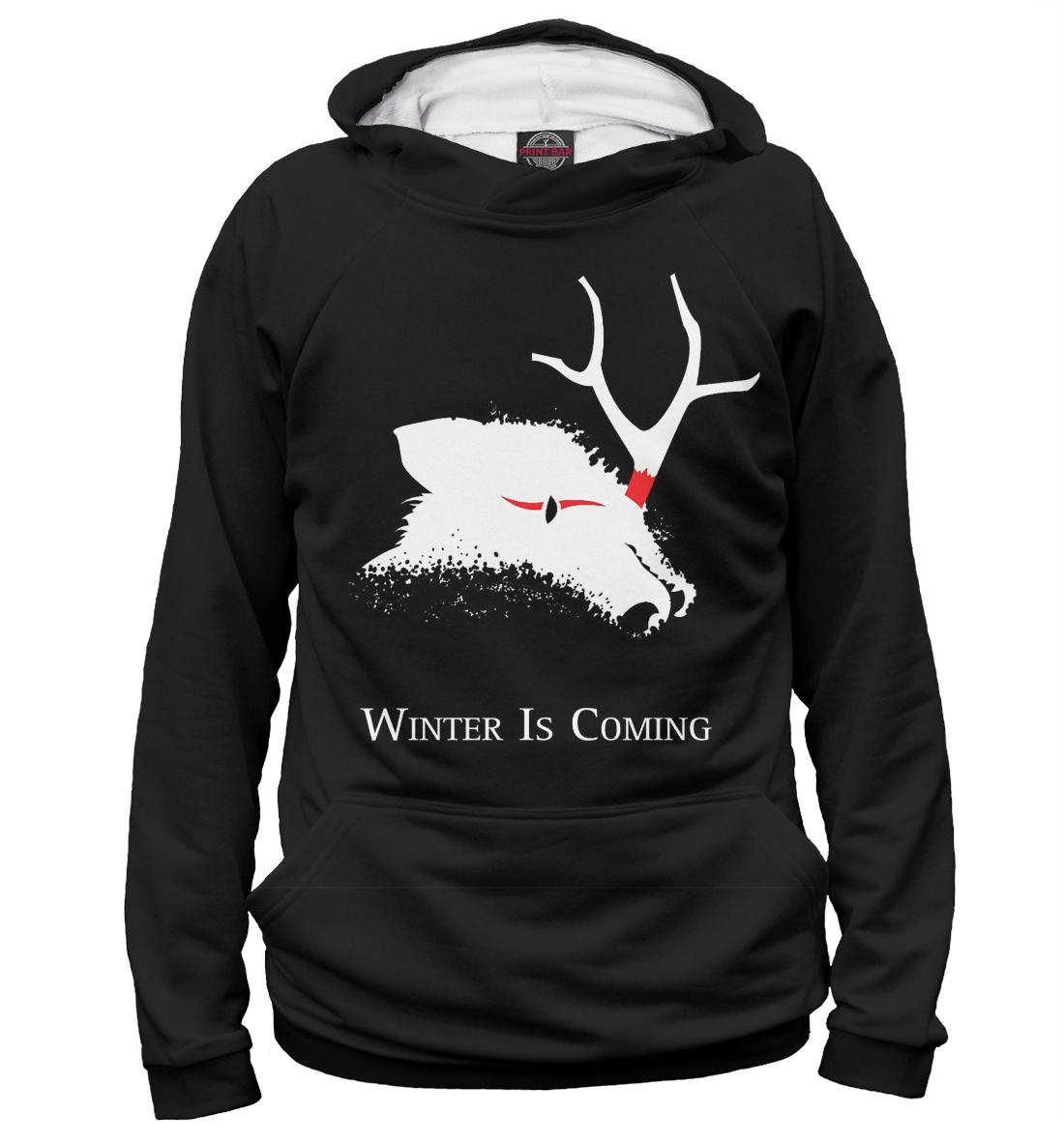 Купить Зима близко, Printbar, Худи, IGR-117554-hud-2